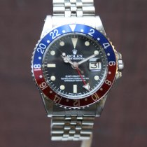 Rolex GMT-Master Vintage Plexi from 1973 with rolex service