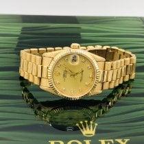 Rolex Datejust pre-owned 31mm Date Yellow gold