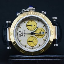 Cartier Chronograph 38mm Quarz gebraucht Pasha (Submodel) Champagnerfarben