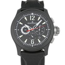 Jaeger-LeCoultre Master Compressor Chronograph Ceramic pre-owned 44mm Black Chronograph Date Rubber