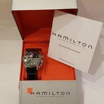 Hamilton Titanium Automatic Black Arabic numerals 43mm pre-owned Khaki Navy Frogman