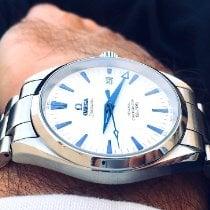 Omega Seamaster Aqua Terra Steel 39mm White No numerals