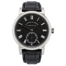 A. Lange & Söhne Richard Lange White gold 40.5mm Black Roman numerals United States of America, New York, New York
