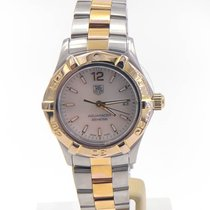 TAG Heuer Aquaracer Lady Gold/Steel 27.5mm Champagne United States of America, Illinois, BUFFALO GROVE