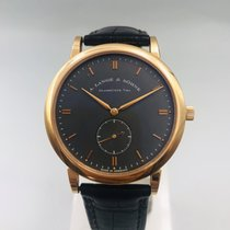 A. Lange & Söhne Saxonia 215.033 Very good Rose gold 37mm Manual winding