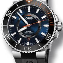 Oris Staghorn Restoration Limited Edition Steel 43.5mm Blue United States of America, New York, New York