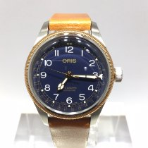 Oris Big Crown Pointer Date Acero 36mm Azul Árabes España, España