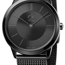 ck Calvin Klein Steel 35mm Quartz K3M224B1 new