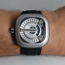 Sevenfriday M1 Steel 47mm Silver