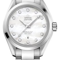 Omega Seamaster Aqua Terra Steel 34mm Mother of pearl United States of America, New York, Airmont