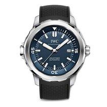 IWC Aquatimer Automatic Stahl 42mm Blau Keine Ziffern Schweiz, Zug
