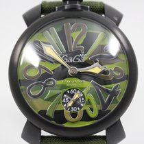 Gaga Milano pre-owned Manual winding 48mm 5 ATM