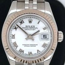 Rolex Lady-Datejust Steel 26mm White Roman numerals United States of America, New York, New York