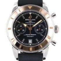 Breitling Superocean Héritage Chronograph Gold/Steel 44mm Black