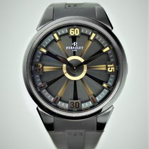 Perrelet Turbine (submodel) pre-owned 44mm Black Rubber