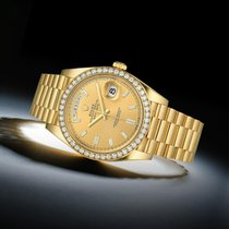 Rolex Day-Date 40 Yellow gold 40mm Champagne United States of America, New York, New York
