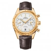 Omega Yellow gold Chronograph Silver 41.5mm new Speedmaster '57