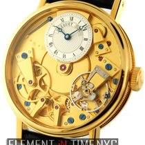 Breguet Tradition Yellow gold 37mm Silver Roman numerals United States of America, New York, New York