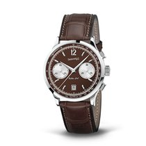 Eberhard & Co. Extra-Fort Vitré quadrante marrone e...