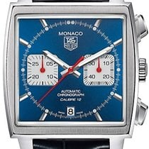 TAG Heuer Monaco Calibre 12 Steel 39mm Blue United States of America, New York, Brooklyn