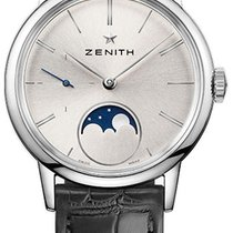 Zenith Elite Ultra Thin Steel 33mm Silver United States of America, New York, Airmont