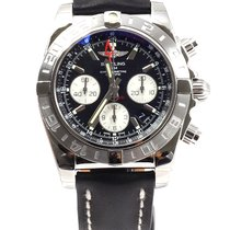 Breitling Chronomat 44 GMT AB042011/BB56 Black Dial NEW