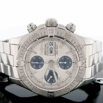 Breitling SuperOcean Chronograph Day Date 42MM Cream Dial...