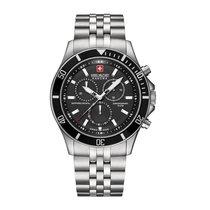 Swiss Military Hanowa Flagship neu Quarz Chronograph Nur Uhr 6-5183.7.04.007