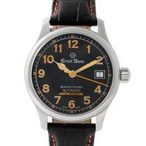 Ernst Benz Chronosport 30286 stainless steel Black dial 36mm...