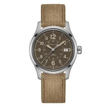 Hamilton Khaki Field Steel 40mm Brown