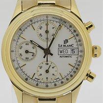 Le Blanc Chronograph 18k. Gelbgold