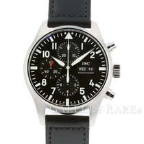 """IWC Pilot Chronograph Day Date Stainless Steel 43MM """"New"""""""