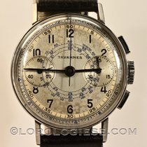 Tavannes / Cyma  – Vintage 1940`s Snail-dial Chronograph –...