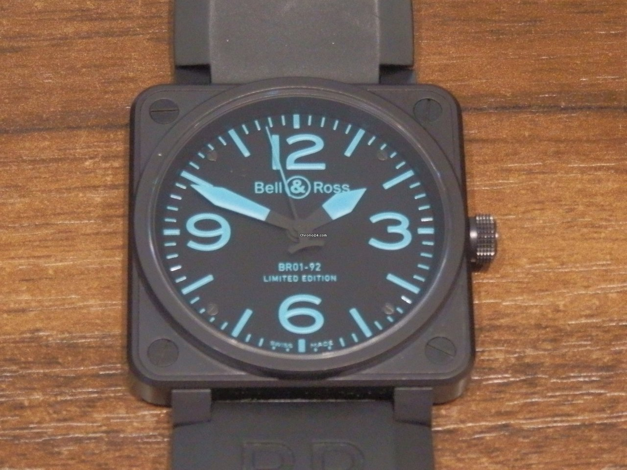 Bell And Ross Watches >> Bell Ross Br 01 92 Blue Ltd Edition 500