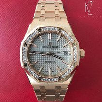 Audemars Piguet Royal Oak Lady 15451OR.ZZ.1256OR.01 New Rose gold 37mm Automatic