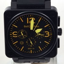 Bell & Ross BR 01-94 Chronographe BR0194-YELLOW new