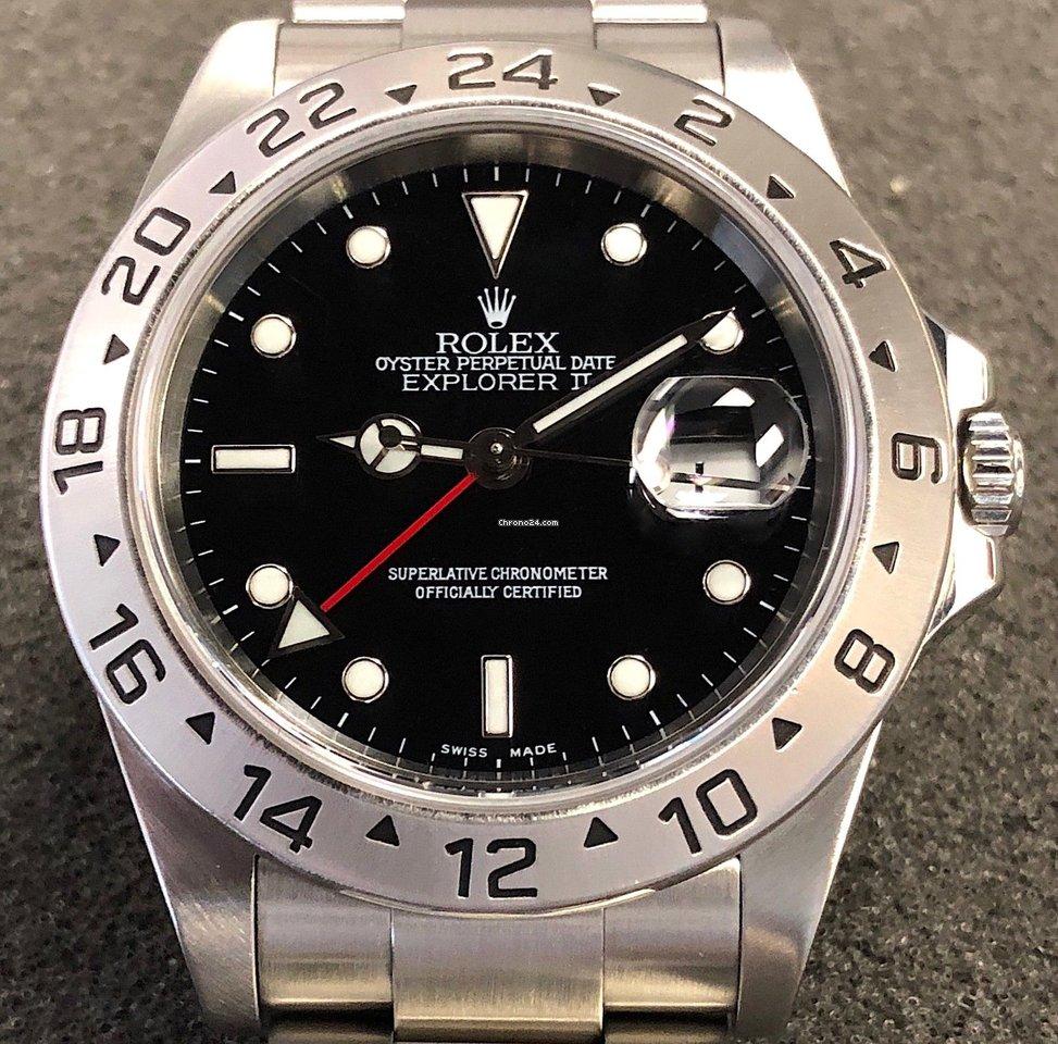 d4eab7535fb Rolex Explorer II - Todos os preços de relógios Rolex Explorer II na  Chrono24