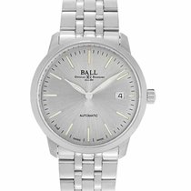 Ball 40mm Automatic new Trainmaster (Submodel) Silver