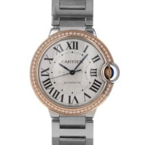 Cartier Ballon Bleu 36mm Steel 36mm Silver Roman numerals United States of America, Maryland, Baltimore, MD