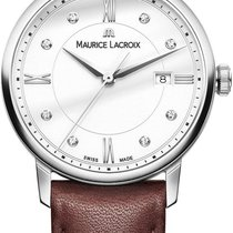 Maurice Lacroix Staal 30mm Quartz EL1094-SS001-150-1 nieuw