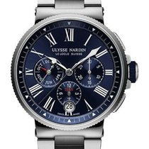 Ulysse Nardin Marine Chronograph 1533-150-7M/43 новые