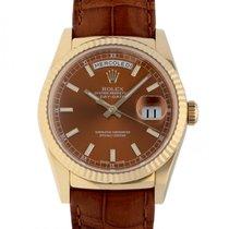 Rolex Day-Date 36 neu 2016 Automatik Uhr mit Original-Box und Original-Papieren 118138