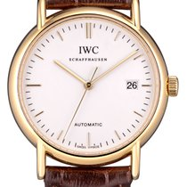 IWC Yellow gold Automatic No numerals 38mm pre-owned Portofino Automatic