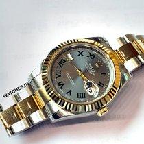 Rolex Datejust II Złoto/Stal 41mm Szary