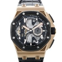 Audemars Piguet Royal Oak Offshore Tourbillon Chronograph Rose gold 44mm Black United States of America, Pennsylvania, Southampton