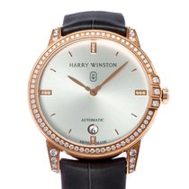 Harry Winston Midnight Rose gold 36mm Silver United States of America, Texas, Houston