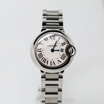 Cartier Ballon Bleu 28mm Steel 28mm Silver Roman numerals United Kingdom, Harlow