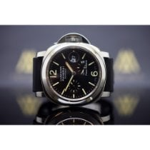 Panerai Luminor Power Reserve pre-owned 44mm Black Date Rubber