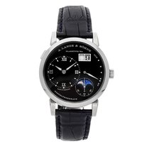 A. Lange & Söhne White gold Manual winding Black Roman numerals 38.5mm pre-owned Lange 1