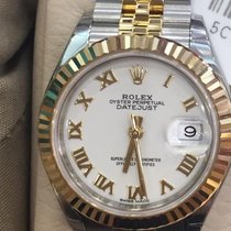 Rolex Lady-Datejust Gold/Steel 28mm White Roman numerals